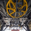 Yellow Wheels of Cableway — Stock Photo #57633433