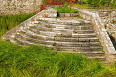 Old Stone Staircase Abandoned — Stock Photo