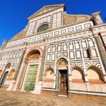 Basilica of Santa Maria Novella - Firenze Italy — Stock Photo #58970989