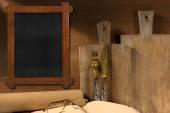 Rustic Cuisine Background — Stock Photo