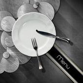 Restaurant Menu Design — Stock Photo