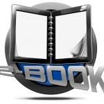 E-Book - Metallic Icon — Stock Photo #62534059