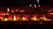 Church - Votive Candles — Stock Photo