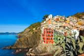 Riomaggiore Liguria Italy — Stock Photo