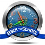 Back to School - Metal Icon — Stock Photo #65762577