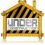 Under Construction - House Project Concept — Photo #67621881