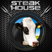 Steak House - Menu Design — Stock Photo