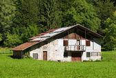 Typical Old Farmhouse - Trentino Italy — Stock Photo
