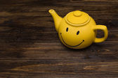 Yellow kettle — Stock Photo