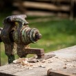 Old vise — Stock Photo #62463911