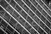 Scaffolding pattern — Stockfoto