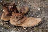Street boots — Stock Photo