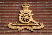 Royal Artillery Logo — Stock Photo