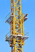 Gru a torre per l'edilizia — Foto Stock