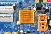 Computer moederbord bestuur — Stockfoto