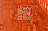 Circuit board background — Stock Photo