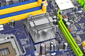 Computer motherboard — Стоковое фото