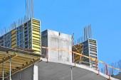 Trabalho do local de construção — Fotografia Stock