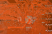 Circuit board, close up — Stock Photo