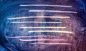 Svarta tavlan abstrakt bakgrund med färgade linjer — Stockfoto