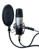 Studiomikrofon 4 — Stockfoto