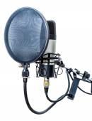 Studiomikrofon 9 — Stockfoto