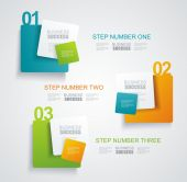 Modern minimalistic infographics banner. Vector illustration  — Stock Vector