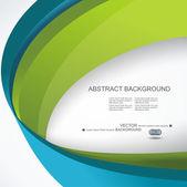 Abstract 3d technology circles vector backgound. Eps 10. — 图库矢量图片