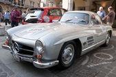 Famous race retro cars Mille Miglia — Fotografia Stock