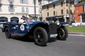 Mille Miglia,the famous race for retro cars — Foto de Stock