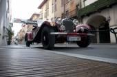 Mille Miglia 2015, retro arabalar için ünlü yarış — Stok fotoğraf
