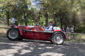 Mille Miglia 2015,the famous race for retro cars — Stock Photo