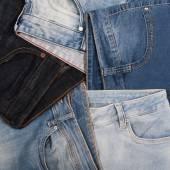 Plusieurs différents jeans — Photo