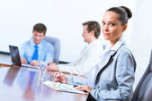 Portrait of a successful business woman — Stock Photo
