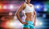 Fille fitness — Photo