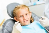 Oral cavity inspection — Foto Stock