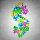 Dollar concept — Stock Photo
