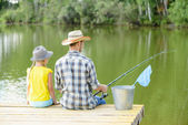 Pesca de verano — Foto de Stock
