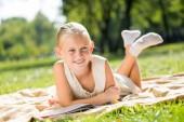 Letni weekend w parku — Zdjęcie stockowe
