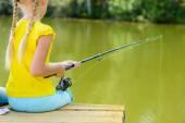 Sommar fiske — Stockfoto