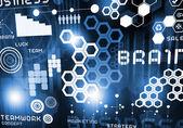 Innovative technologies background — Foto Stock