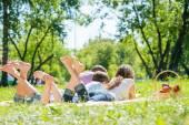 Summer weekend in park — Foto de Stock