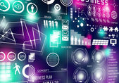 Innovative technologies background — Stock Photo