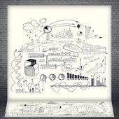 Business strategy presentation — Foto Stock