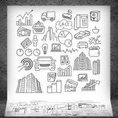 Business strategy presentation — Zdjęcie stockowe