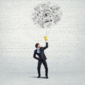 Creative thinking concept — Stock Photo