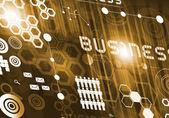 Innovative technologies digital business — Stock Photo
