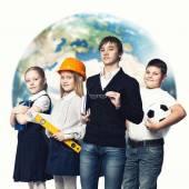 Future profession — Stock Photo