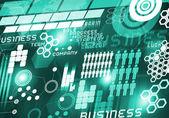 Innovative technologies Digital background — Foto de Stock