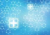 Digital background Modern medicine — Stock Photo